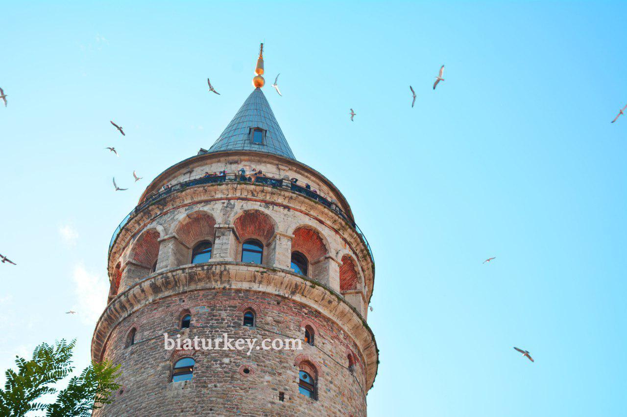 برج گالاتا یا گالاتا کولسی استانبول